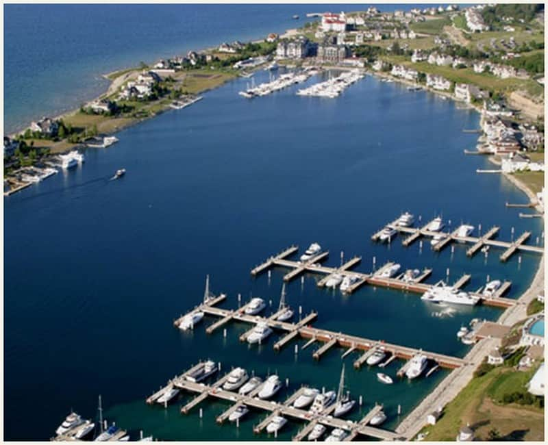 Aerial view of Bay Harbor